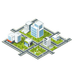 isometric of public vector image