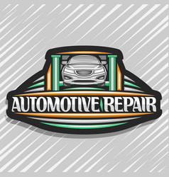 Logo for automotive repair vector
