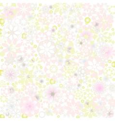 Pastel Flower Texture vector