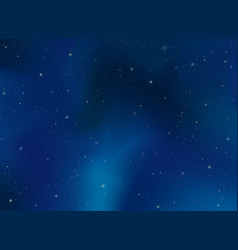 realistic space celestial evening sky background vector image