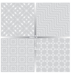 Seamless pattern set fe vector