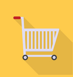 shopping cart icon set of great flat icons with vector image
