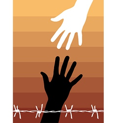 Human rights vector image