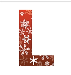 L Letter vector image vector image