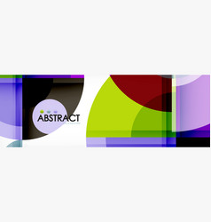 abstract background bright circles geometric vector image