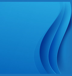 Abstract blue background dark curve layered and vector