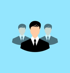 avatar set front portrait office employee team vector image