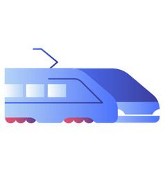 Bullet train gradient vector