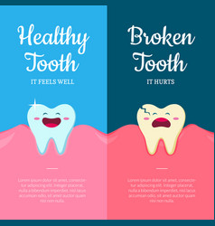 concept with cartoon healthy vector image