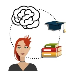 eLearning and education vector image