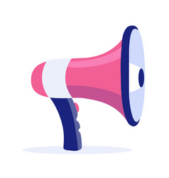 megaphone icon advertising business vector image