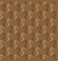 twig seamless pattern vector image