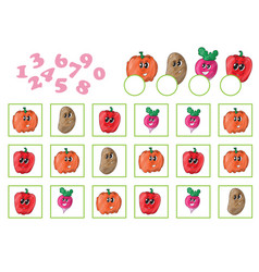 cartoon of education counting vector image