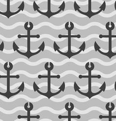 sea anchors wallpaper vector image vector image