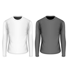 t-shirt long sleeves for boys vector image vector image