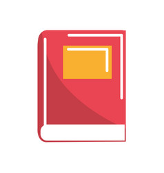 library book tool to study and learn vector image