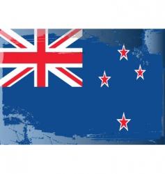 New Zealand national flag vector image