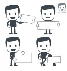 cutaway icon man vector image vector image