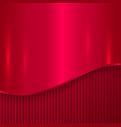 Abstract cherry red metallic background vector
