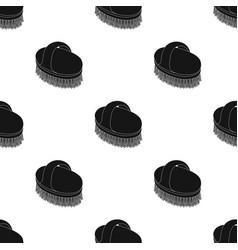Animal brushpet shop single icon in black style vector