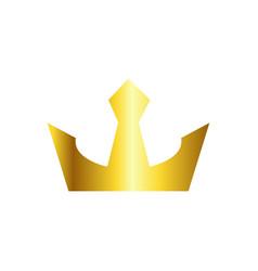 Crown logo template design vector