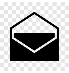 Envelope icon - iconic design vector