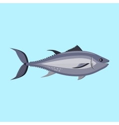 Fish Icon Design Flat Isolated vector image