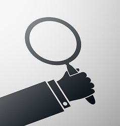 Magnifying glass Stock vector