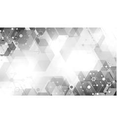 Modern tech abstraction vector