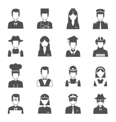 Profession Avatar Set vector image