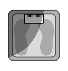 Scale weight measure icon vector