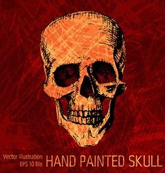 T-shirt Graphics - sketched skull vector