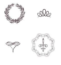 Vintage symbol vintage print mythology design vector