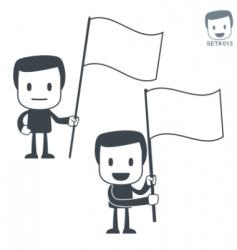 victory icon man set013 vector image vector image