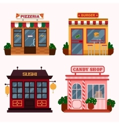 buildings that are vector image vector image