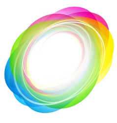 Abstract Color Shape vector image