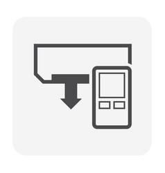 Air conditioner remote vector