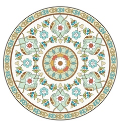 Artistic ottoman pattern series ten vector