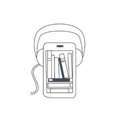 Audio Translation Smartphone App vector image