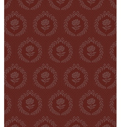 brown roses seamless vector image