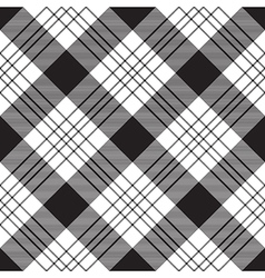 Diagonal plaid seamless pattern vector