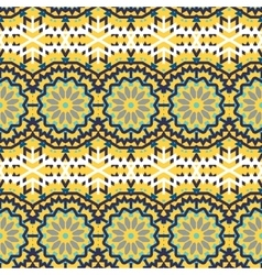 ethnic colorful bohemian pattern vector image