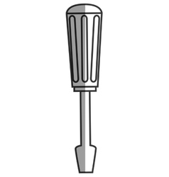 Line handle screwdriver vector