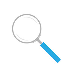 Magnifier colored vector