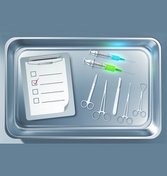 medical equipment concept vector image