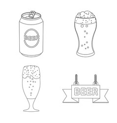 pub and bar logo vector image