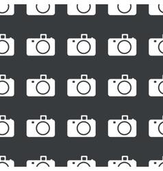 Straight black camera pattern vector