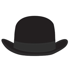 Derby hat vector image