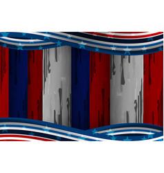 America flag texture vector