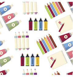 Art creation special equipment to paint and draw vector